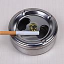 billige Kopper og glas-rustfrit stål askebæger låg rotation fuldt lukket rygning hjem værktøjer