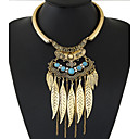 cheap Necklaces-Women's Tassel Bib Statement Necklace - Tassel, European, Fashion Gold, Silver Necklace Jewelry For