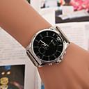 Χαμηλού Κόστους Ανδρικά ρολόγια-Ανδρικά Μοδάτο Ρολόι Χαλαζίας Καθημερινό Ρολόι κράμα Μπάντα Αναλογικό Ασημί - Λευκό Μαύρο