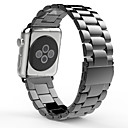 cheap HDMI Cables-Watch Band for Apple Watch Series 3 / 2 / 1 Apple Butterfly Buckle Stainless Steel Wrist Strap