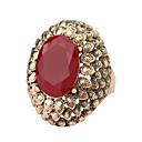 رخيصةأون أغطية أيفون-نسائي خاتم البيان أحمر أخضر سبيكة موضة مناسب للحفلات مناسب للبس اليومي مجوهرات / حجر الراين