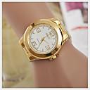 preiswerte Damenuhren-Damen Armbanduhr Armbanduhren für den Alltag Legierung Band Charme / Modisch Gold