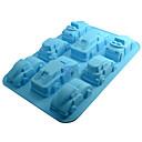 hesapli Fırın Araçları ve Gereçleri-Bakeware araçları Silikon Çevre-dostu / 3D Kek / Çikolota / Candy Pişirme Kalıp