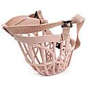 preiswerte Hundehalsbänder, Geschirre & Leinen-Hund Maulkörbe Regolabile / Einziehbar Anti Bark Sicherheit Solide Kunststoff Beige