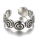 povoljno Prstenje-Band Ring Prilagodljivi prsten Plastika Srebrna dame Vintage Modno prstenje Jewelry Pink Za Dnevno Kauzalni Cosplay nošnje Prilagodljive