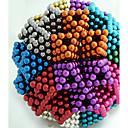preiswerte Magnetpuppen-216 pcs 5mm Magnetspielsachen Magnetische Bälle Bausteine Puzzle Würfel Magnet Erwachsene Jungen Mädchen Spielzeuge Geschenk