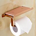hesapli Erkek Yüzükleri-Tuvalet Kağıdı Tutacağı Çağdaş Pirinç 1 parça - Otel banyo