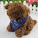preiswerte Hundehalsbänder, Geschirre & Leinen-Katze Hund Halsband - Bandana Modisch Blume Stoff Schwarz Purpur Rot Blau Rosa