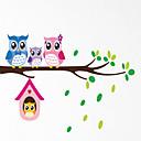 hesapli Ev Dekorasyonu-Hayvanlar Romantizm Şekiller 3D Duvar Etiketler Uçak Duvar Çıkartmaları Dekoratif Duvar Çıkartmaları, PVC Ev dekorasyonu Duvar Çıkartması