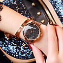 cheap Women's Watches-Women's Fashion Watch Casual Watch Stainless Steel Band Sparkle Rose Gold