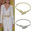 hesapli Bilezikler-Göbek Zinciri / Vücut Zinciri / Belly Chain Avrupa Kadın's Gümüş / Altın Vücut Mücevheri Uyumluluk Yılbaşı Hediyeleri / Günlük