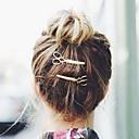 billige Mode Halskæde-Krystal / Stof / Legering Tiaras / Hårspænde / barrette med 1 Bryllup / Speciel Lejlighed / Fest / aften Medaljon / Hair Pin