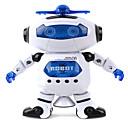 ieftine Alte lumini LED-Robot Iluminat LED Muzică Draguț cântat Dans ABS Băieți Fete Jucarii Cadou 1 pcs