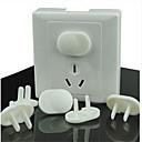 abordables Les Enfants de la Maison-protection de sécurité bébé bouchon de prise d'alimentation électrique de verrouillage résistant aux chocs électriques
