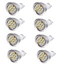 preiswerte LED-Kugelbirnen-YouOKLight 8St 6W 450-500lm GU10 LED Spot Lampen MR16 15 LED-Perlen SMD 5630 Dekorativ Warmes Weiß Kühles Weiß 100-240V 85-265V 220-240V
