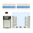 저렴한 악세사리-란다의 천서의 TM-ESP-12 esp8266 시리얼 와이파이 무선 모듈 아두 이노 / 라즈베리 파이에 대한 / PCB 안테나 + 어댑터 보드 w