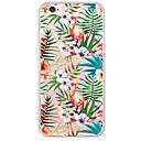 halpa iPhone kotelot-Etui Käyttötarkoitus Apple iPhone X / iPhone 8 / iPhone 6 Plus Ultraohut / Läpinäkyvä Takakuori Flamingo Pehmeä TPU varten iPhone X / iPhone 8 Plus / iPhone 8