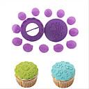hesapli Makyaj ve Tırnak Bakımı-14 adet kek dekorasyon seti pasta piston kek dekorasyon çikolata pişirme kalıp