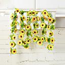 hesapli Pişirme Aletleri ve Kap-Kacaklar-Yapay Çiçekler 1 şube Modern Stil Ayçiçekleri Duvar Çiçeği