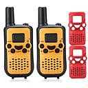 رخيصةأون أقراط-T899C واكي تاكي حاملة اليد VOX تشفير CTCSS/CDCSS LCD تفحص رصد 3KM-10KM 3KM-10KM 8 AAA 0.5W اسلكية تخاطب راديو إرسال واستقبال