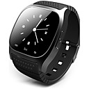 cheap Car Signal Lights-Men's Smartwatch Digital Watch Digital Rubber Black / White / Blue Touch Screen Alarm Calendar / date / day Digital Luxury - White Black Blue / Remote Control / RC / Pedometers / Fitness Trackers