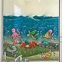 رخيصةأون تزيين المنزل-فيلم نافذة وملصقات زخرفة معاصر حيوان PVC / Vinyl حافة النافذة