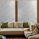 hesapli Dekorasyon Etiketleri-Art Deco Çağdaş Pencere Filmi, PVC/winyl Malzeme pencere Dekorasyonu Yemek Odası Yatakodası Ofis Çocuk Odası Oturma Odası Banyo Dükkanı /