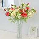 preiswerte Badezimmer Gadgets-Künstliche Blumen 1 Ast Moderner Stil Pfingstrosen Tisch-Blumen