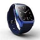 Χαμηλού Κόστους Έξυπνα ρολόγια-Έξυπνο ρολόι iOS / Android Οθόνη Αφής / Βηματόμετρα / Κλήσεις Hands-Free Παρακολούθηση Ύπνου / Βρες τη Συσκευή Μου / Υπενθύμιση Κλήσης