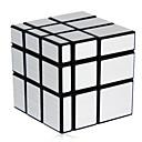 levne Módní náhrdelníky-Magic Cube IQ Cube Shengshou Mirror Cube 3*3*3 Hladký Speed Cube Magické kostky puzzle Cube profesionální úroveň Rychlost Zrcadlo Klasické & nadčasové Dětské Dospělé Hračky Chlapecké Dívčí Dárek