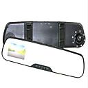 hesapli Araç Arka Görüş Kameraları-Full HD 1920 x 1080 1080p Araba DVR'si 120 Derece / 140 Derece / 170 Derece Geniş açı 12.0MP CMOS 4.3 inç Dash Cam ile Gece görüşü Araba Kaydedici