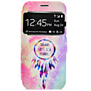 cheap Tablet Cases-Case For Samsung Galaxy Samsung Galaxy S7 Edge Card Holder with Stand Full Body Cases Dream Catcher Hard PU Leather for S7 edge S7 S6