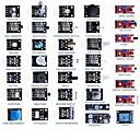 Недорогие Коннекторы и терминалы-37-в-1 для Arduino сенсорного модуля набора 60pcs резисторы обучения