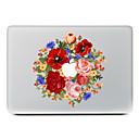 preiswerte Make-up & Nagelpflege-1 Stück Haut-Aufkleber für Kratzfest Blume Muster PVC MacBook Pro 15'' with Retina MacBook Pro 15 '' MacBook Pro 13'' with Retina MacBook