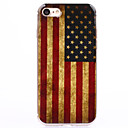 baratos Capinhas para iPhone-Capinha Para Apple iPhone 8 / iPhone 8 Plus / iPhone 7 Transparente / Estampada Capa traseira Bandeira Macia TPU para iPhone 8 Plus / iPhone 8 / iPhone 7 Plus