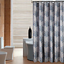Недорогие Гаджеты для ванной-1шт Шторка для ванной Modern Полиэстер Ванная комната