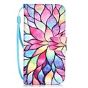 cheap iPhone Cases-Case For Apple iPhone X / iPhone 8 / iPhone 7 Card Holder / Pattern Full Body Cases Flower Hard PU Leather for iPhone X / iPhone 8 Plus / iPhone 8