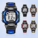 ieftine Ceasuri Bărbați-Bărbați Ceas La Modă Digital Piele PU Matlasată Negru / Analog Casual - Galben Rosu Albastru / Oțel inoxidabil