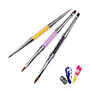 cheap Makeup & Nail Care-Dusting Brushes Nail Painting Tools Lightweight strength and durability nail art Manicure Pedicure Metal Unique Design / Classic Daily
