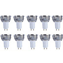 Χαμηλού Κόστους Λαμπτήρες LED σφαίρα-5W GU10 LED Σποτάκια MR16 KWB COB 420 lm Θερμό Λευκό / Ψυχρό Λευκό Αδιάβροχο V 10 τμχ