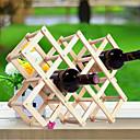 cheap Tea Tools-Creative Kitchen Wood Art Wine Rack Grogshop Restaurant Decoration