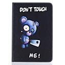 tanie Etui do iPhone-Kılıf Na Apple Mini iPad 4 Mini iPad 3/2/1 Etui na karty Z podpórką Wzór Wytłaczany wzór Pełne etui Zwierzę Twarde Skóra PU na iPad Mini