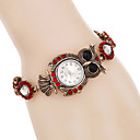 Buy Women Watches Fashion Crystal Owl Bracelet Watch Quartz Digital Relogio Feminino Strap
