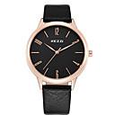 preiswerte Geschenke-KEZZI Armbanduhr Sender Armbanduhren für den Alltag, Cool Weiß / Schwarz / Braun