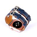 preiswerte iPad Displayschutzfolien-Uhrenarmband für Apple Watch Series 3 / 2 / 1 Apple Klassische Schnalle Echtes Leder Handschlaufe