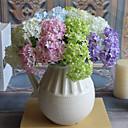 tanie Dekoracja biura-Sztuczne Kwiaty 3 Gałąź Styl nowoczesny Hortensje Bukiety na stół