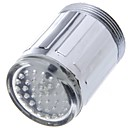 cheap Bathroom Gadgets-LED Water Faucet Light Blue Glow Shower Head Kitchen Tap Aerators