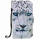 economico Custodie / cover per Galaxy serie S-Custodia Per Samsung Galaxy S7 edge / S7 A portafoglio / Porta-carte di credito / Con supporto Integrale Animali Resistente pelle sintetica per S7 edge / S7 / S6 edge