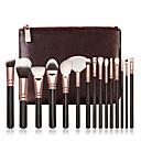 hesapli Makyaj ve Tırnak Bakımı-15pcs Makyaj fırçaları Profesyonel Fırça Setleri Portatif / Profesyonel Ahşap