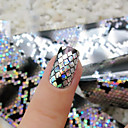 billige Rhinsten og pynt til negle-1 pcs 3D Negle Stickers Negle kunst Manicure Pedicure Mode Daglig / 3D Nail Stickers